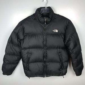 The North Face 700 Down Puffer Jacket Black